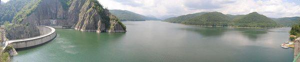 Lake Vidraru resevoir, Romania