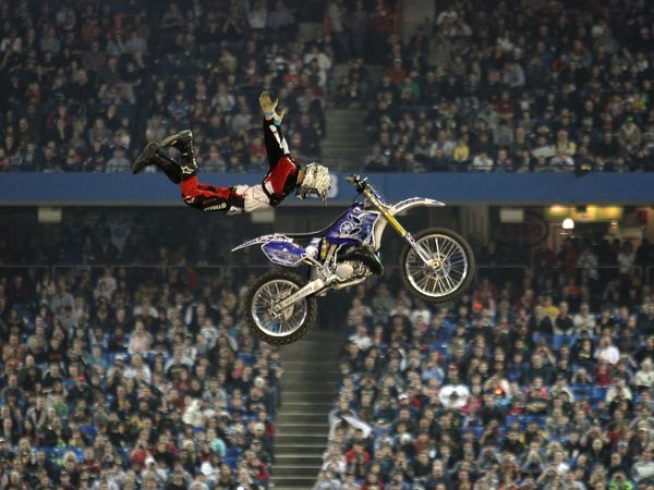 Supercross Competition in Toronto
