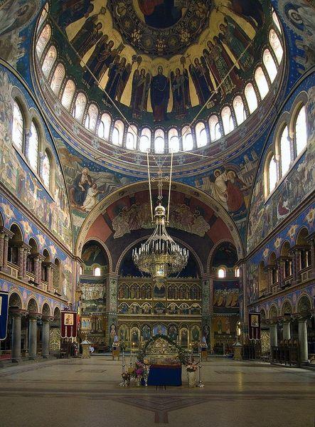 Metropolitan Cathedral, Sibiu, Romania