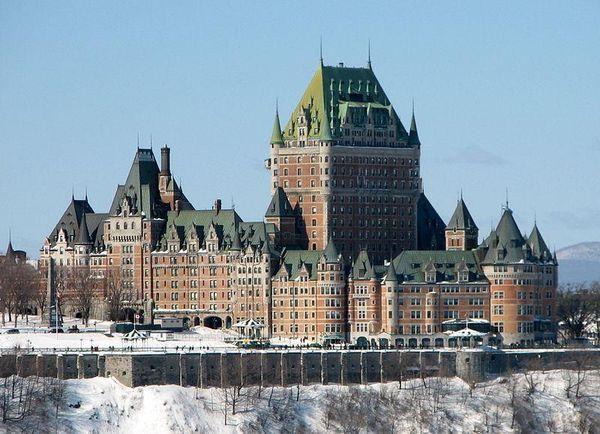 Château Frontenac Quebec City
