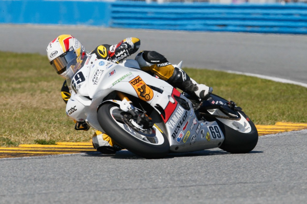 Daytona 200: Eslick wins it again after