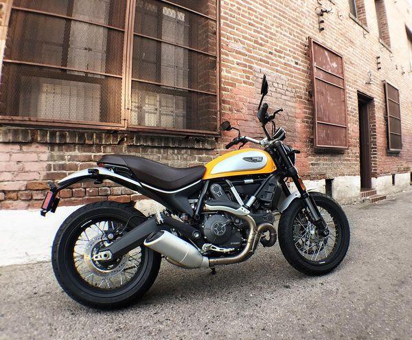 Ducati Scrambler by Jon Beck