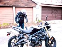 A good landing is any one that you walk away from- My First Street Motorcycle Crash on The Triumph Street Triple