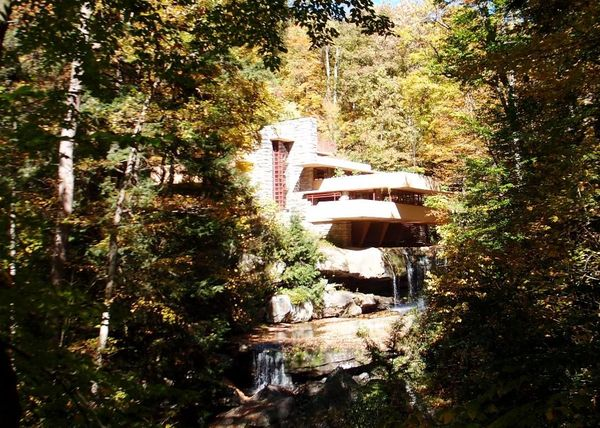 Falling Water exterior view