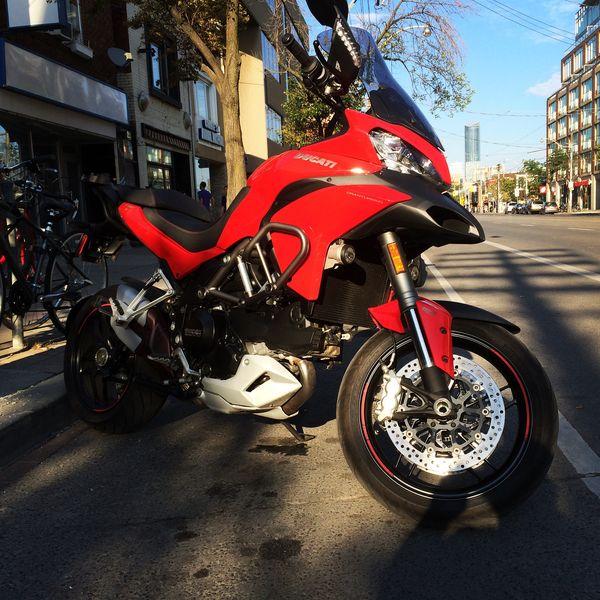 2014DucatiMultiStrada3 #2015DucatiMulti #DucatiChampersTest #DucatiDeflowering
