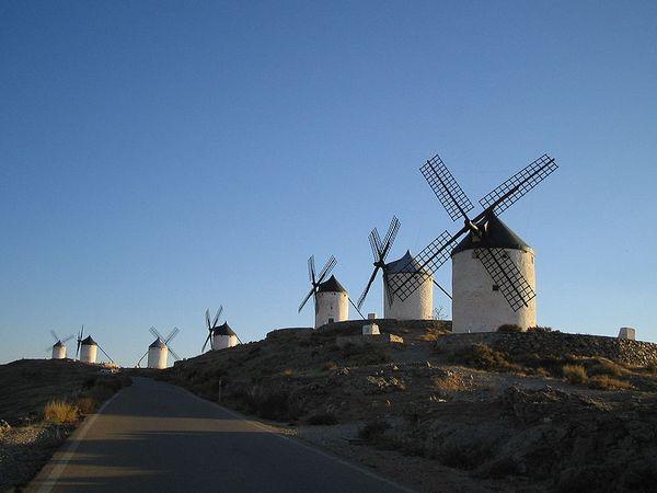 Windmills in Consuegra, Castilla-La Mancha