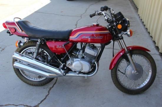 1972 Kawasaki 350 S2