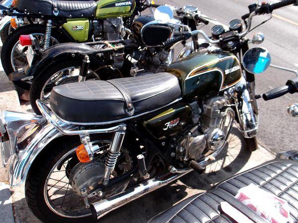 Four-cylinder 1972 Honda CB350