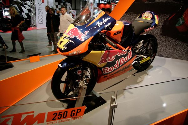 Sandro Cortese's Moto3 winning bike will be released to the public as the 250R