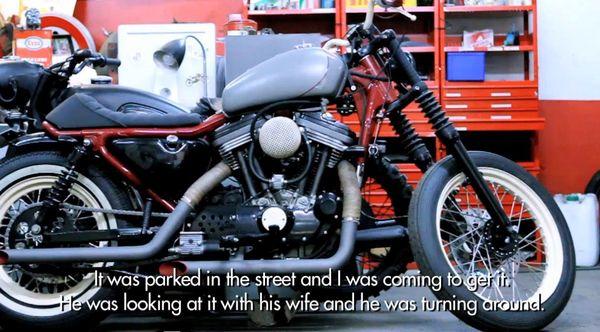 Blitz Motorcycles Motorbike in progress