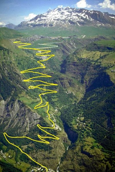 Tour de France Route dhuez