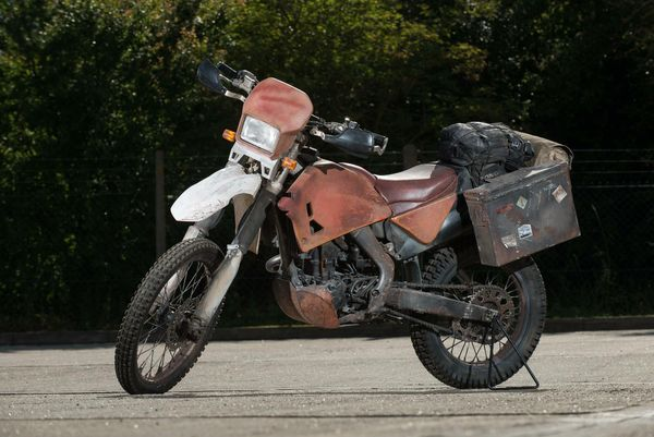 Bond's Skyfall bike, a CRF250R, up for auction