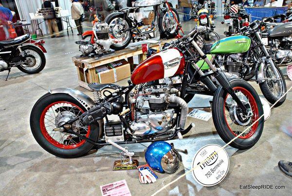 68 Triumph Bonneville bobber