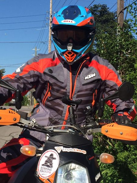 New KTM Racetech adventure gear hits the road