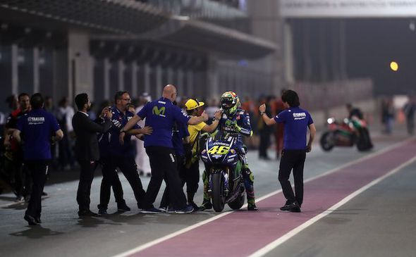 Rossi and his team are happy to bag a podium in the season's opener