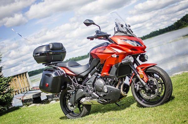2016 Kawasaki Versys 650 ABS KLE650FGF in Candy Matte Orange