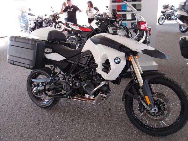 BMW F800 GS Police Bike, 2012