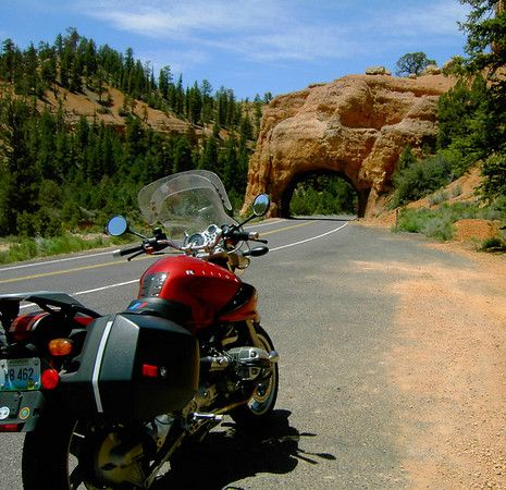 Bryce Canyon Arch on Highway 12
