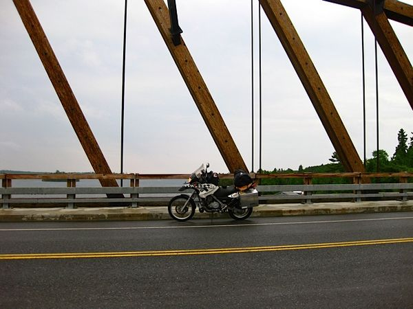 Sioux Narrows Bridge, ON