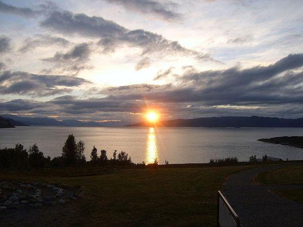Midnight Sun in Alta, Norway