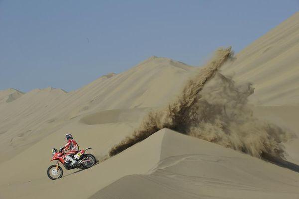 Dakar Rally - Team HRC - Javier Pizzolito