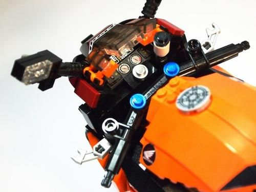 LEGO Honda REPSOL CBR1000RR - dash