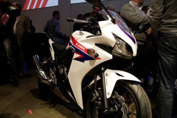Honda CBR500R at launch night