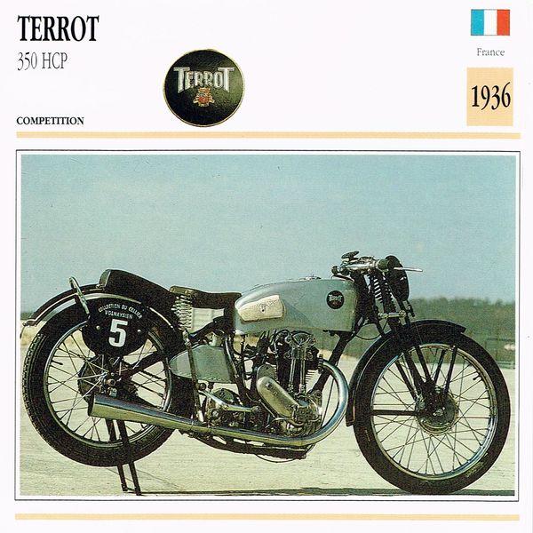 Terrot 350 HCP card