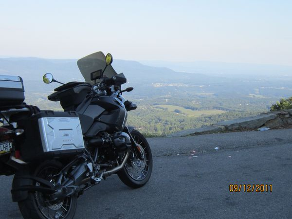 Riding the Blue Ridge