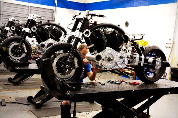 Hand assembly of the Confederate Hellcat