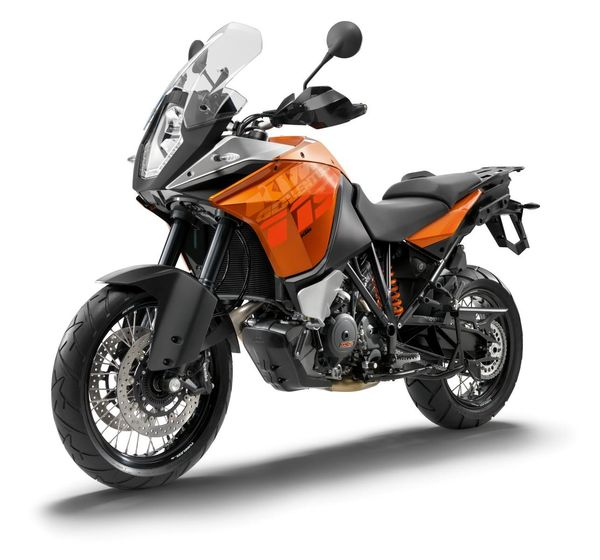 2013 KTM 1190 Adventure R - front quarter view
