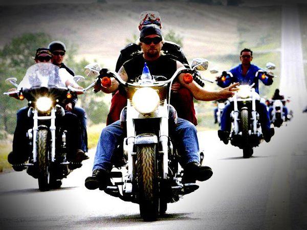 Helmet free group riding