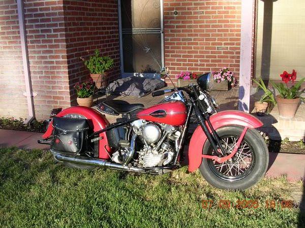 1946 Harley-Davidson Knucklehead Type 74