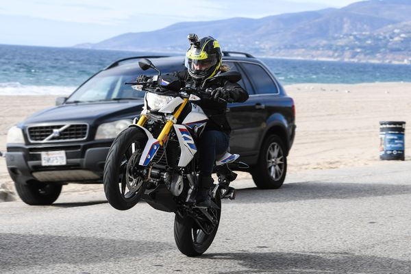 Bmw G310r First Ride: The Smallest Bmw Roadster Goes Far, Fast And