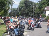 Friday the 13th Port Dover, Ontario, Canada - July 13, 2012