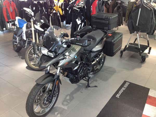 The BMW F-700 GS is an