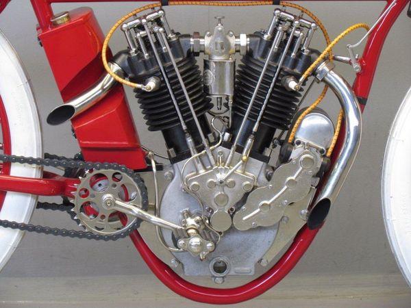 1913 Indian 8-Valve engine