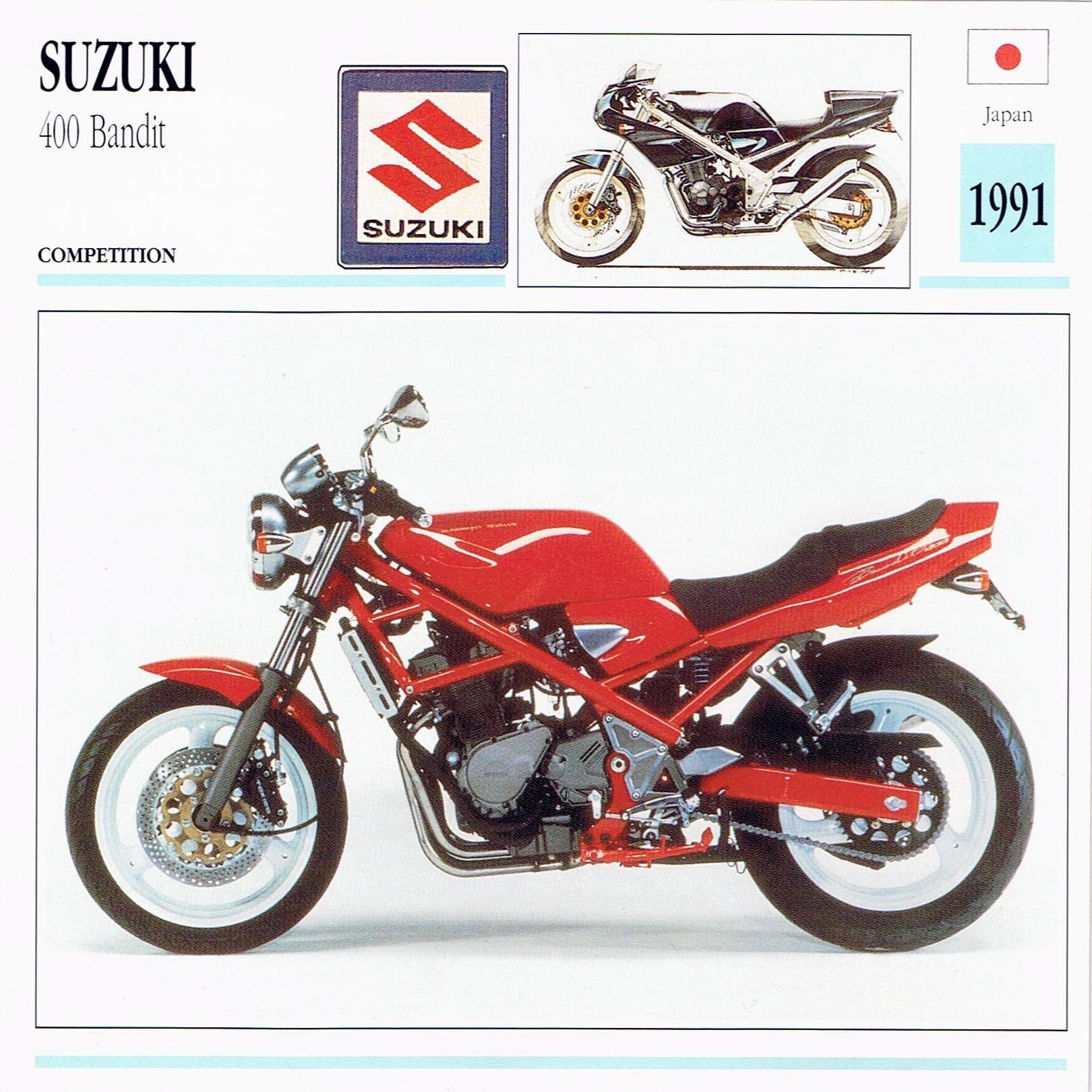 1991 Suzuki 400 Bandit