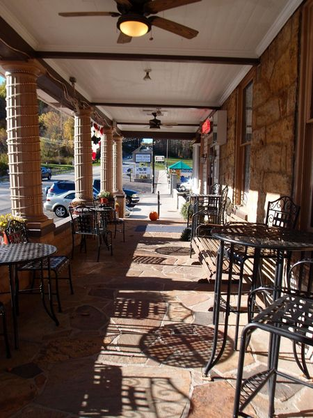 Stonehouse Inn porch