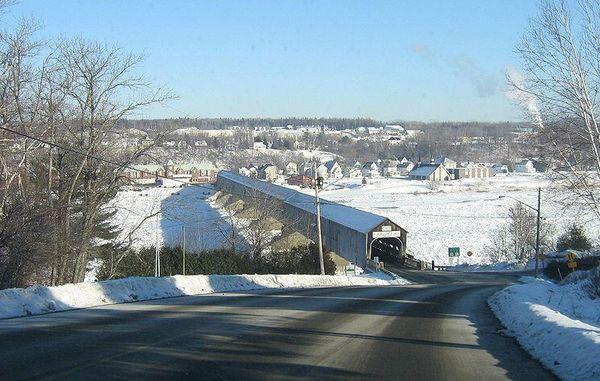 Hartland Bridge - World's longest covered bridge