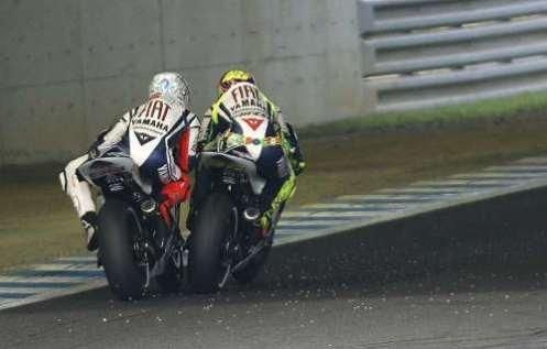 Rossi + Lorenzo = a little close?