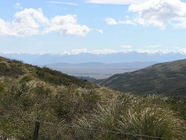 The McKenzie country & Southern Alps from the top of McKenzie Pass