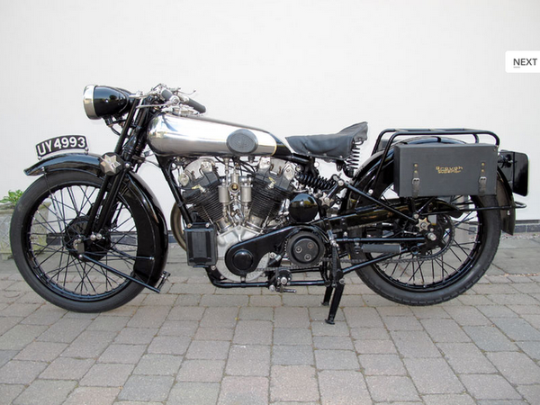 1925 Brough Superior SS 100 Alpine GS