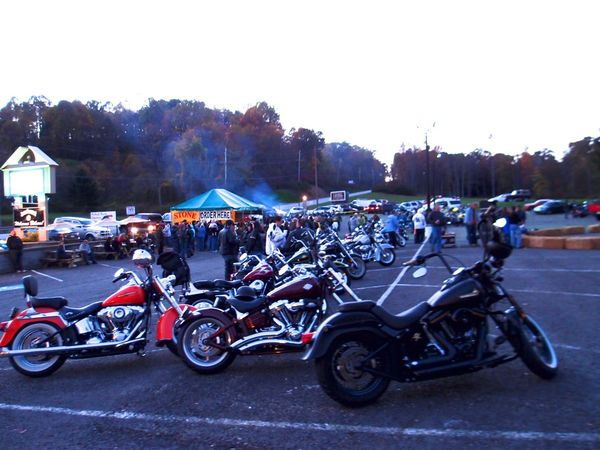 Harleys at The Stonehouse Inn