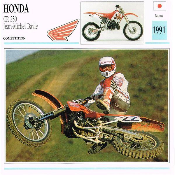 Honda CR 250 card