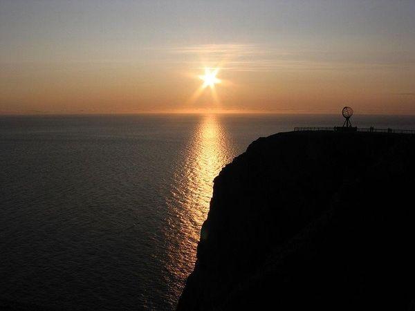 Midnight Sun Nordkapp