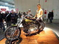 Harley Davidson Struts Its Stuff in Milan