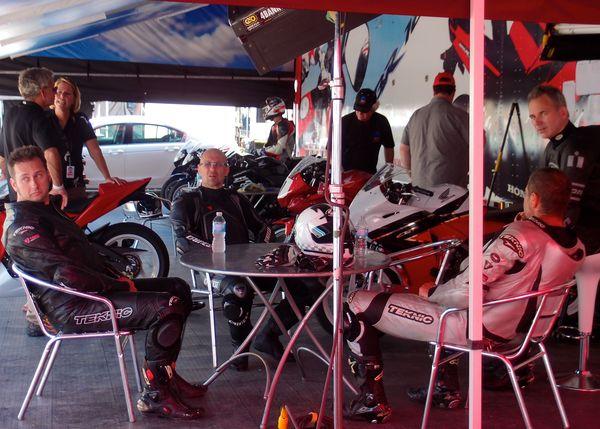 Race #1 Competitors CBR250R