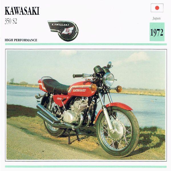 Kawasaki 350 S2 card