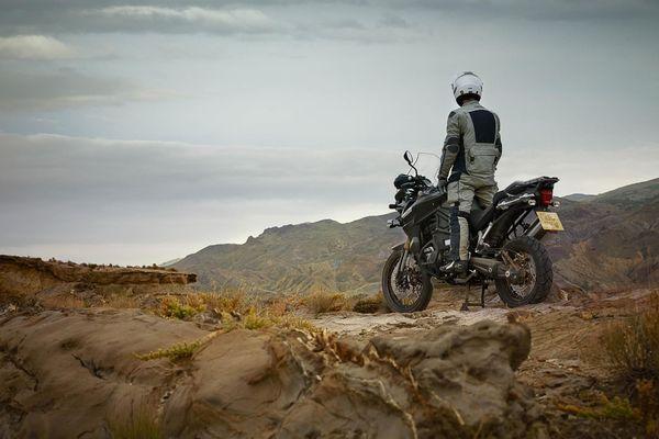 2013 Triumph Explorer XC - in action
